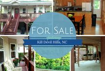 Kill Devil Hills NC Homes For Sale / by Sun Realty Sales