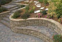 Paving & Retainer walls