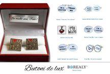 Cadouri barbati 2015 / cufflinks butoni borealy jewelry men accessories