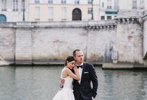 My wedding / Destination Wedding: A Timeless Parisian Affair. Monika Kandefer & Sebastian Cwik. Photography: Dream Eye Studio