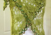 Shawls / Crochet and knit