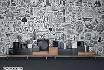 LondonArt wallpapers feat. Casamania design / LondonArt wallpapers featuring Casamania design.  #casamania #design #interiordesign