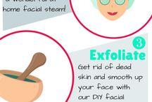 cara / para el cuidado de la piel