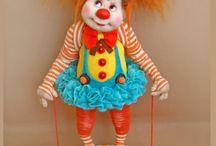 Клоуны и клоунесы