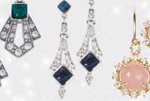 Colorful Earrings /  Fashion earrings and amazing statement earrings will add a splash of color to your wedding jewelry but not limited to your wedding day. Buck the Tradition and add Color