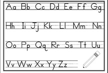 abcteach- Handwriting / A selection of pages for handwriting practice. Laminate them and reuse. SPECIAL FOR OUR PINTEREST FOLLOWERS: Type 'pin13' into the Promo Code for $5 dollars off your abcteach membership. / by abcteach.com