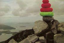 Yarn bombing nature