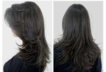 cortes de cabelos longos