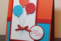Cards Stampin Up / by Tina Barela