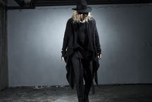 ByTheR- Modern Classic Grunge Style Charismatic Looking Gothic Black Men's Fashion / http://en.byther.kr/