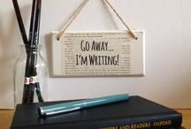 Writers must haves / Here are a few things that all writers must have