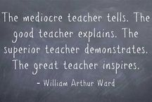 Teacher quotes / Inspire