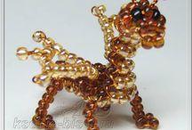 Pony bead creatures