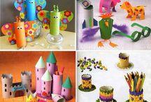Kreativt med barna