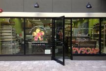 Soap Store/Studio / Our storefront located at 820 A1A North, Ste. W19 in Ponte Vedra Beach, FL.  Come visit!!