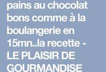 Receive pain au chocolat