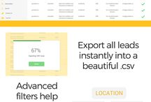 Infographics / Marketing infographics. Infographics that visualize email marketing and lead generation data from GuessBox.