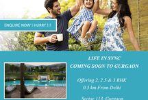 TATA La VIDA Gurgaon / TATA La VIDA - 2 & 3 BHK World Class Estate Residences from TATA Housing starting at Rs. 1.08 Cr. With 30:70 PLP Plan located in sector 113 Gurgaon on Dwarka Expressway.