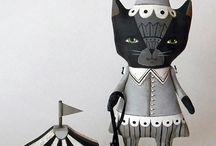 cloth dolls / by Marisa Joy