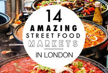London ❤️ Food / Foods to eat in London