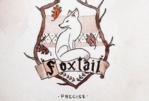 Foxtail // Hogwarts House / This is a Hogwarts House created by Kenna, and I absolutelly love it. I think that I finally found my people here.