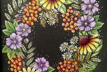My coloring - Blomster mandala
