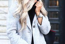 clothes / Diese Kleidung passt hervorragend zur jeweiligen Haarfarbe