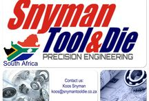 Snyman Engineering / Development and Design of Press Tools Development and Design of Forming Tools CNC Turning X9 CNC Milling X9 Wire Cutting X2 SparkErosion ( Electric Discharge Machines) Spark Erosion & side sparking fuction