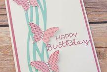 Stampin Up! Geburtstagskarten