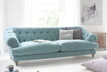 sofa ideas / by Ada Gray