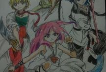my drawings magi