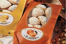 PANETTONE DE NOEL, COLOMBE DE PAQUES / les gâteaux italiens, panettone à Noël, les colombes de Pâques, et autres biscuits de l'Italie