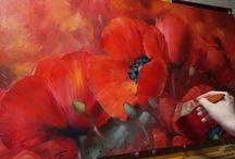 Art / training, master classes, aquarells etc