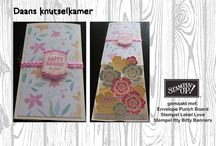 Itty Bitty Banners stempels & stansen STAMPIN'UP / inspiratie voor de stempelset Itty Bitty Banners van Stampin'Up.