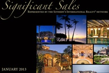 SIR Significant Sales / The Sotheby's International Realty® brand takes great pride  in presenting to the world unique places and their  stories, and in using our innovative marketing tools,  global network and relationships with discerning  buyers to perfectly match time-honored properties  with those who will appreciate them and give them  new life. Here are the top sales in the Sotheby's International Realty Network.
