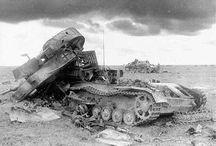 vehículos destruidos