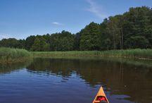 """Templiner Gewässer / die Templiner Gewässer bestehen aus dem Templiner Kanal, auch """"Templiner Wasser"""" genannt, sowie mehreren schönen Seen. Sie sind über die Obere Havel zu erreichen."""