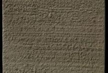 Davis Colors Colored Concrete Tile Samples / Actual photos of concrete tile samples with different finishes colored using the Davis Color line of concrete pigments