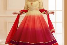 Anarkali Dresses / We sell Anarkali's dress materials in lowest price!