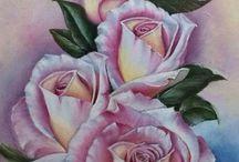 Ντεκουπαζ λουλουδια