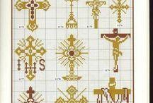 cruces y motivos religiosos