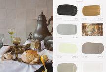 Gouden eeuw kleurenkaart / De kleurenkaart van Carte Colori: Gouden Eeuw!