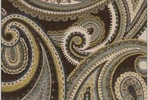 Paisley and Damask / An ancient staple in rug design.