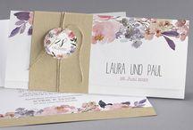Hochzeit - Einladungskarte