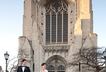 Rockefeller Memorial Chapel University of Chicago wedding photos