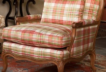 peachy plaids / by Maury Hill