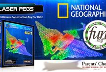 Laser Peg National Geographic Oceans Kit Wins Parents Choice Award