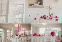 Wedding decoration / svadobná výzdoba