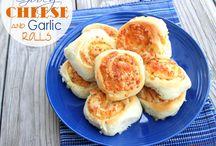 Biscuits, Bread and Rolls / by Jennifer Ausmus