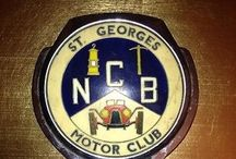 Car club badges